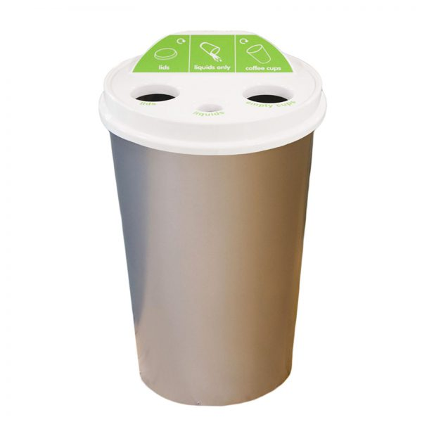 Freestanding M-T Cup recycling bin